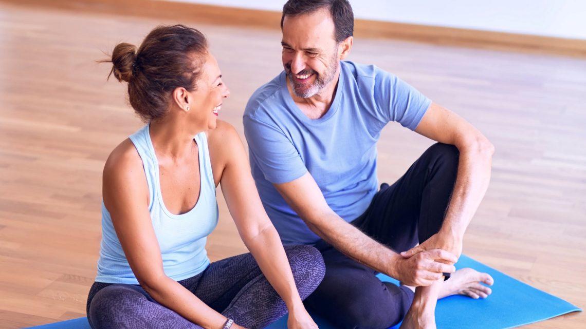 Sport Fitness im Alter für Senioren
